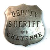 Old West Deputy Sheriff Badge