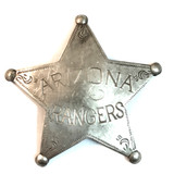 Arizona Ranger Reproduction Old West Badge