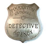 Pinkerton National Detective Agency Shield