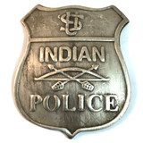 Old West U.S. Indian Police Badge