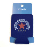 Texas Lone Star State Koozie Blue