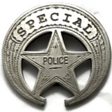 Special Police Old West Badge