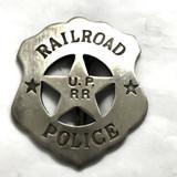 Rail Road Police Badge
