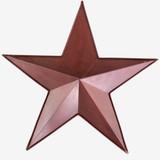 23 Inch Metal Art Red Pocket Star