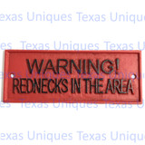 Western Sign & Plaque Redneck Wall Decor Plaque