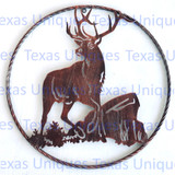Deer Metal Art Wildlife