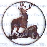 Deer Metal Art Wildlife