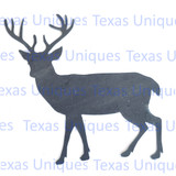 Whitetail Deer Metal Cutout