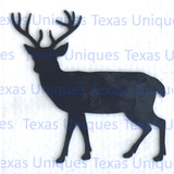 Whitetail Deer Metal Art Cutout