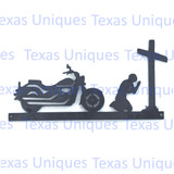 Motorcycle Biker Church Metal Cut Out