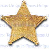Old West Badge Sheriff Lincoln County
