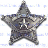 Old West Replica Badge Sheriff Tombstone