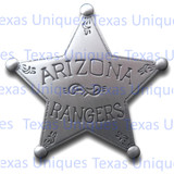 Old West Arizona Ranger Reproduction Badge