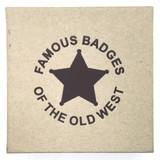 Old West Arizona Ranger Reproduction Badge