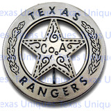 Texas Ranger Co. A Replica Badge