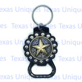 Texas Star Hand Held Bottle Opener