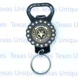 Texas State Seal Hand Held Bottle Opener