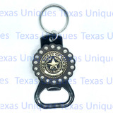 Texas State Seal Hand Held Bottle Opener