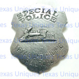 Texas And Pacific Rail Road Special Police Badge