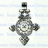 Silver Coptic Christian Cross Pendant