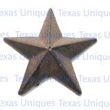 1-3/4 Inch Brown Finish Cast Iron Stars With Nail
