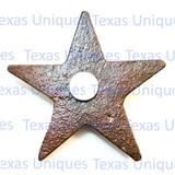 Western Decor Cross Pistol Star Magnet