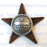 """Texas """"Come and Take It"""" STAR MAGNET"""