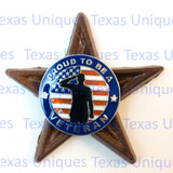 Proud To Be A Veteran Star Magnet