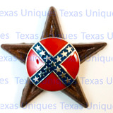Confederate States Rebel Star Magnet