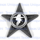 Cowboy Silhouette Star Magnet