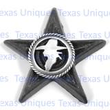 Cowboy Silhouette Star Magnet