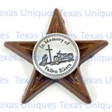 In Memory Of Fallen Bikers Star Magnet