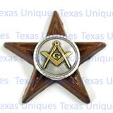Masonic Fraternal Star Magnet