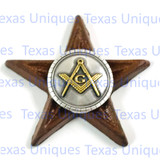 Masonic Fraternal Star Magnet