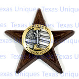 IN HONOR OF FALLEN SOLDIERS STAR MAGNET