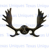 Moose Metal Wall Hook Lodge Man Cave Decor