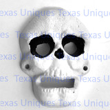 Cast Iron Skull Wall Mount Bottle Opener
