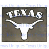 Texas Metal Wall Art