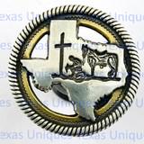 Western Decor Cowboy Church Knobs