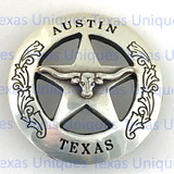 Buy Austin Texas Ranger Star Longhorn Conchos at TexasUniques Online Store