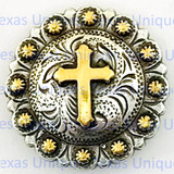Buy Cross Berry Gothic Concho at TexasUniques online store.