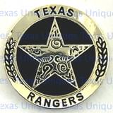 Texas Ranger Concho Flat Back