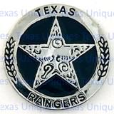 Texas Rangers Concho Flat Back