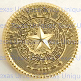 Texas State Seal Lapel Pin