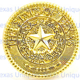 State of Texas Seal Hat Pin