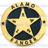 Texas Alamo Ranger Concho Flat Back