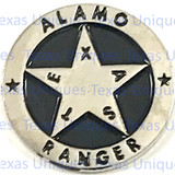 Texas Alamo Ranger Concho Flat Back & Inserts