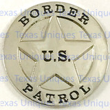 US Border Patrol Flat back Concho