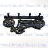 Motorcycle Rustic Gear Hanger Key Rack