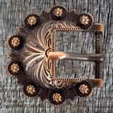 Antique Copper Hardware Headstall Buckle